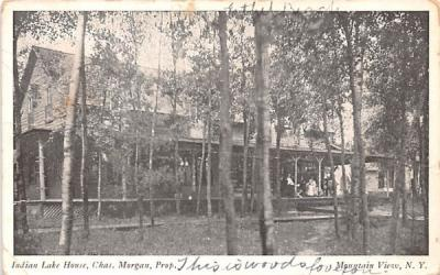 Indian Lake House Mountain View, New York Postcard