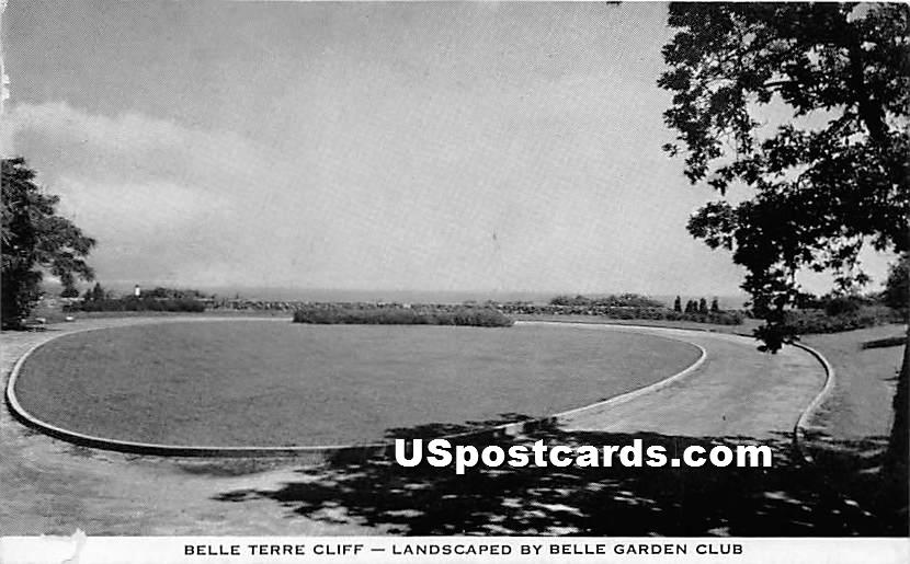 Belle Terre Cliff - Misc, New York NY Postcard