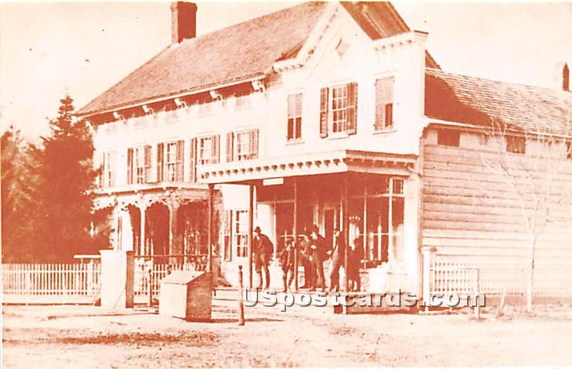 Reproduction, Seaford Historical Society, Baylis Gen Store - Misc, New York NY Postcard