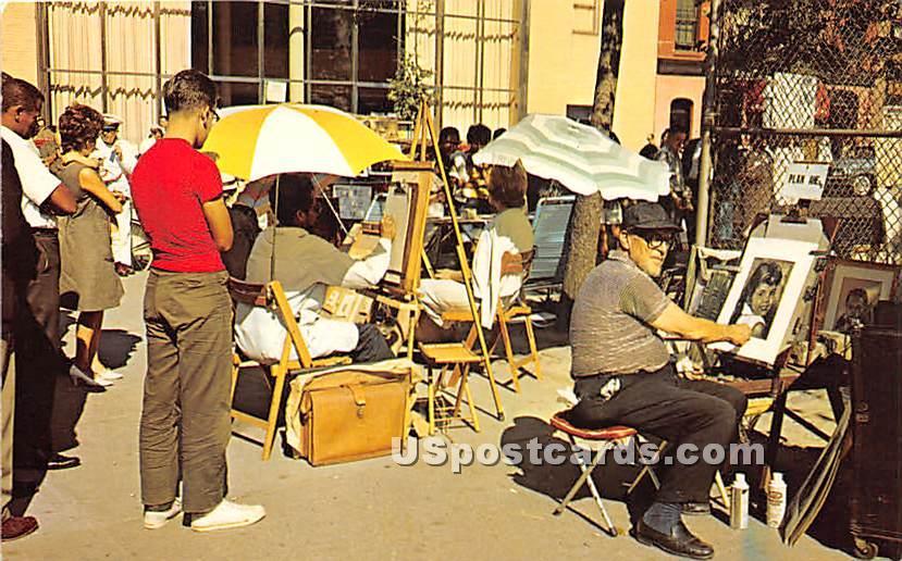 Greenwich Village - Misc, New York NY Postcard