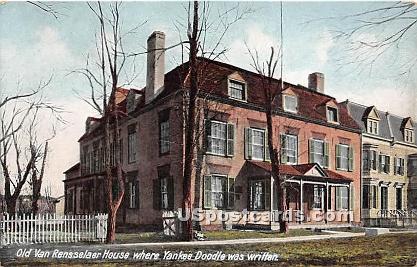 Old Van Rensselaer House - Misc, New York NY Postcard