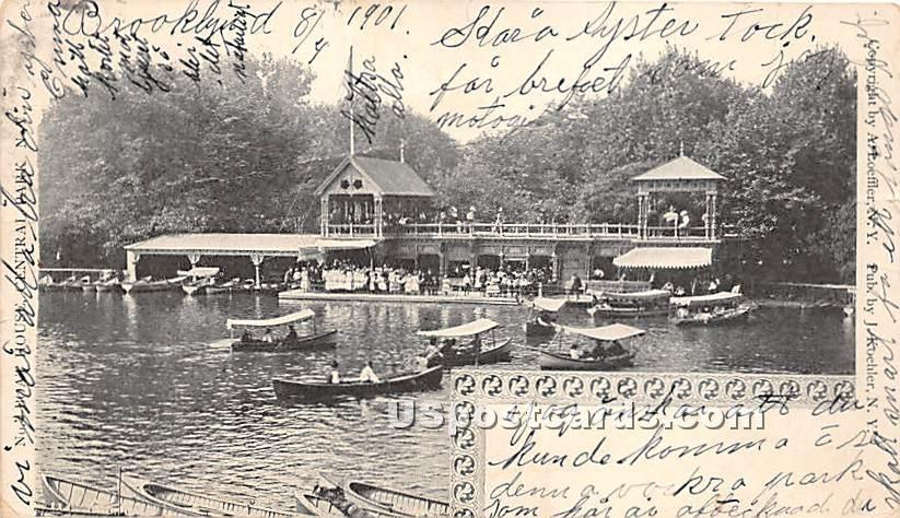 Boats - Misc, New York NY Postcard