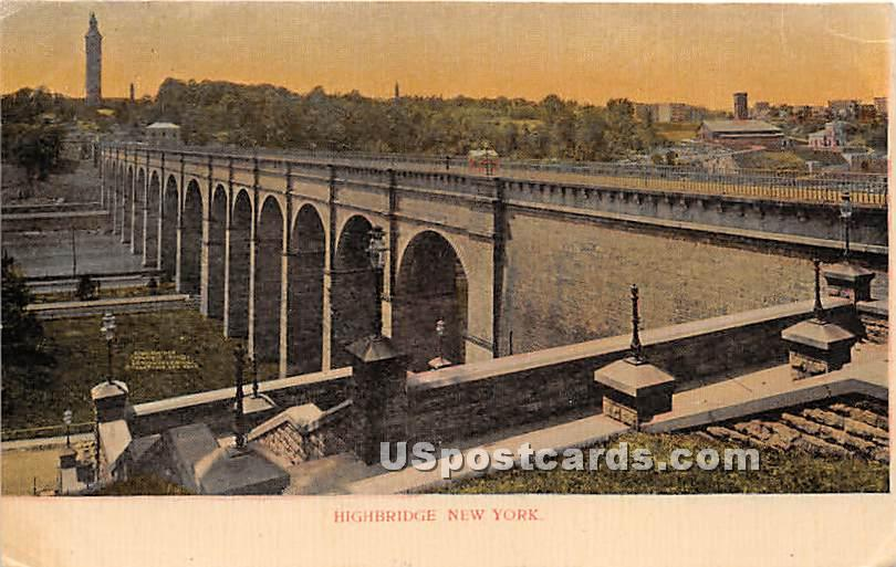 Highbridge - New York City Postcards, New York NY Postcard