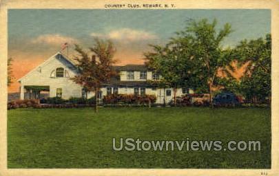 Country Club - Newark, New York NY Postcard
