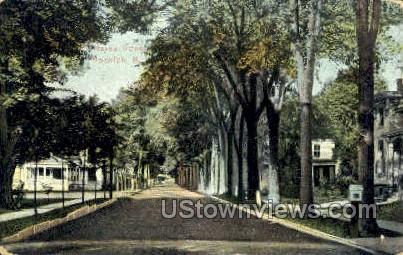 Hayes Street - Norwich, New York NY Postcard