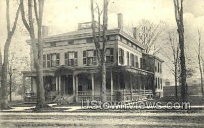 Norwich Club House - New York NY Postcard