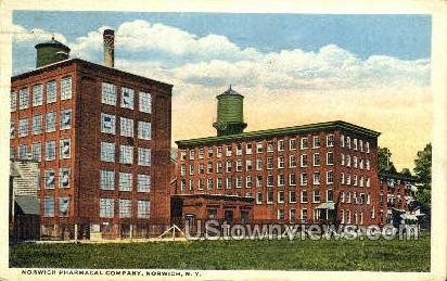 Norwich Pharmacal Company - New York NY Postcard