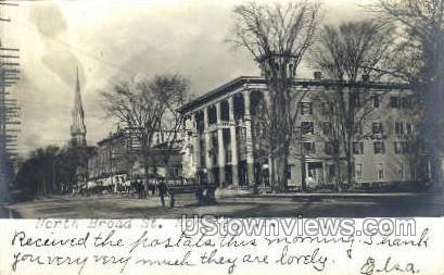 Real Photo - North Broad Street - Norwich, New York NY Postcard