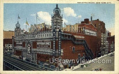 Hippodrome - New York City Postcards, New York NY Postcard