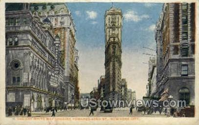 Gay White Way - New York City Postcards, New York NY Postcard