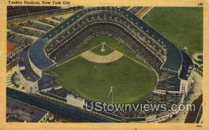 Yankee Stadium - New York City Postcards, New York NY Postcard