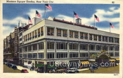Madison Square Garden - New York City Postcards, New York NY Postcard
