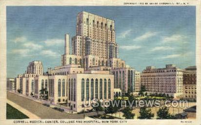 Cornell Medical Center - New York City Postcards, New York NY Postcard