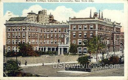 Columbia University - New York City Postcards, New York NY Postcard