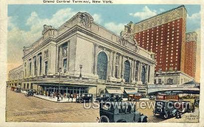 Grand Central Terminal - New York City Postcards, New York NY Postcard