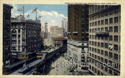 Greeley Square - New York City Postcards, New York NY Postcard