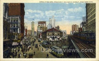Herald Square - New York City Postcards, New York NY Postcard