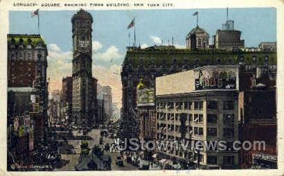 Times Square - New York City Postcards, New York NY Postcard