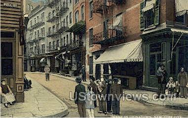 China Town - New York City Postcards, New York NY Postcard