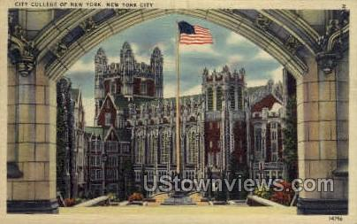 City College - New York City Postcards, New York NY Postcard
