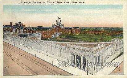 Stadium - New York City Postcards, New York NY Postcard