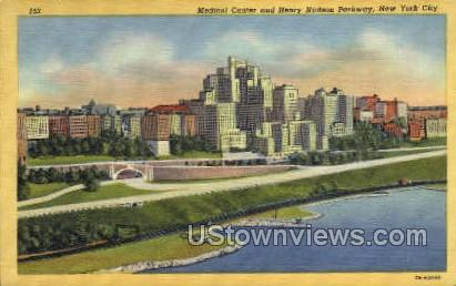 Medical Center - New York City Postcards, New York NY Postcard