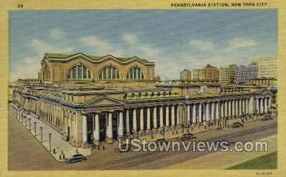 Pennsylvania Station - New York City Postcards, New York NY Postcard