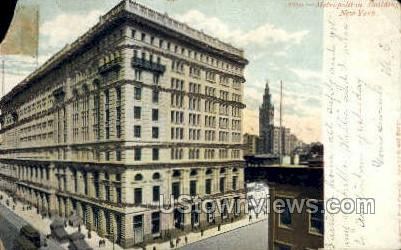 Metropolitan Bldg - New York City Postcards, New York NY Postcard