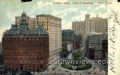 Bowling Green - New York City Postcards, New York NY Postcard