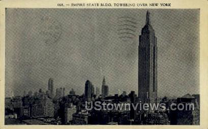 Empire State Bldg - New York City Postcards, New York NY Postcard