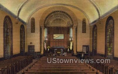 Madison Ave Baptist Church - New York City Postcards, New York NY Postcard