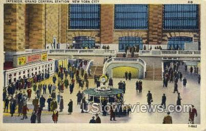 Grand Central Station - New York City Postcards, New York NY Postcard