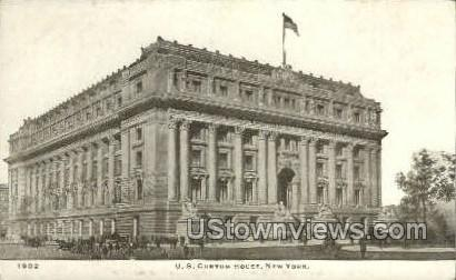 Custom House - New York City Postcards, New York NY Postcard