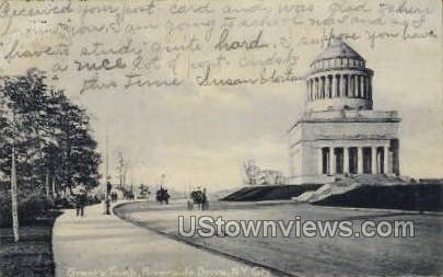 Grant's Tomb - New York City Postcards, New York NY Postcard