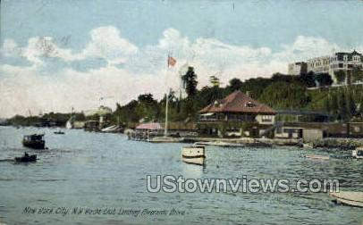 Yacht Club - New York City Postcards, New York NY Postcard