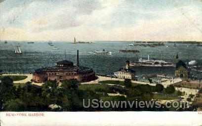 Harbor - New York City Postcards, New York NY Postcard