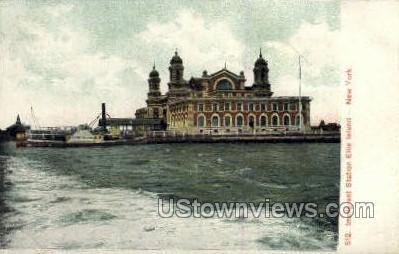Immigrant Station - Ellis Island, New York NY Postcard