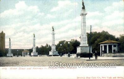 Water Tower - Brooklyn, New York NY Postcard