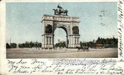 The Arch - Brooklyn, New York NY Postcard