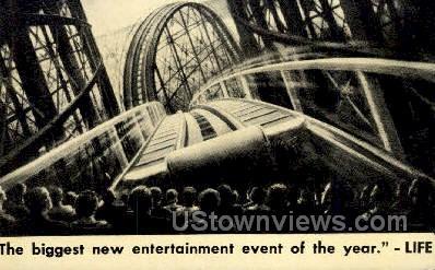 Cinerama - Misc, New York NY Postcard