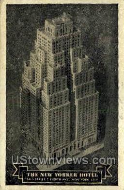 The New Yorker Hotel - New York City Postcards Postcard