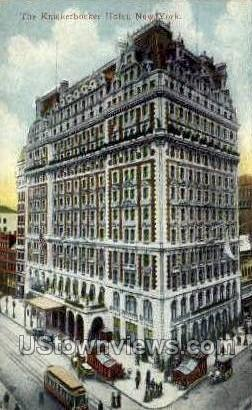 Knickerbocker Hotel - New York City Postcards, New York NY Postcard