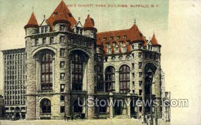 Erie County Bank Bldg - Buffalo, New York NY Postcard