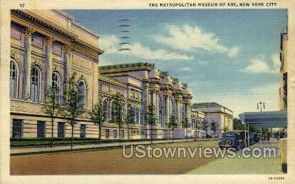 The Metropolitan Museum of Art - New York City Postcards, New York NY Postcard