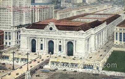 The New Grand Central Depot - New York City Postcards, New York NY Postcard