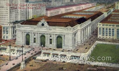 The New Grand Central Depot - New York City Postcards, New York NY Postcard