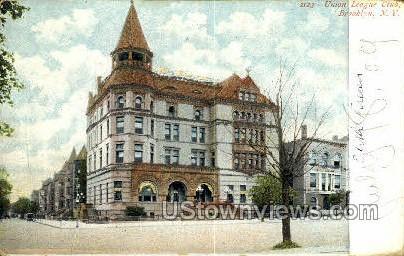 Union League Club - Brooklyn, New York NY Postcard