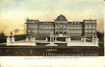 Botanical Gardens Museum - Bronx Park, New York NY Postcard