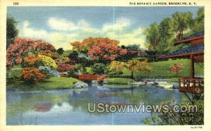 The Botanic Garden - Brooklyn, New York NY Postcard