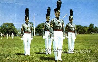 Honor Guard of Cadets - West Point, New York NY Postcard